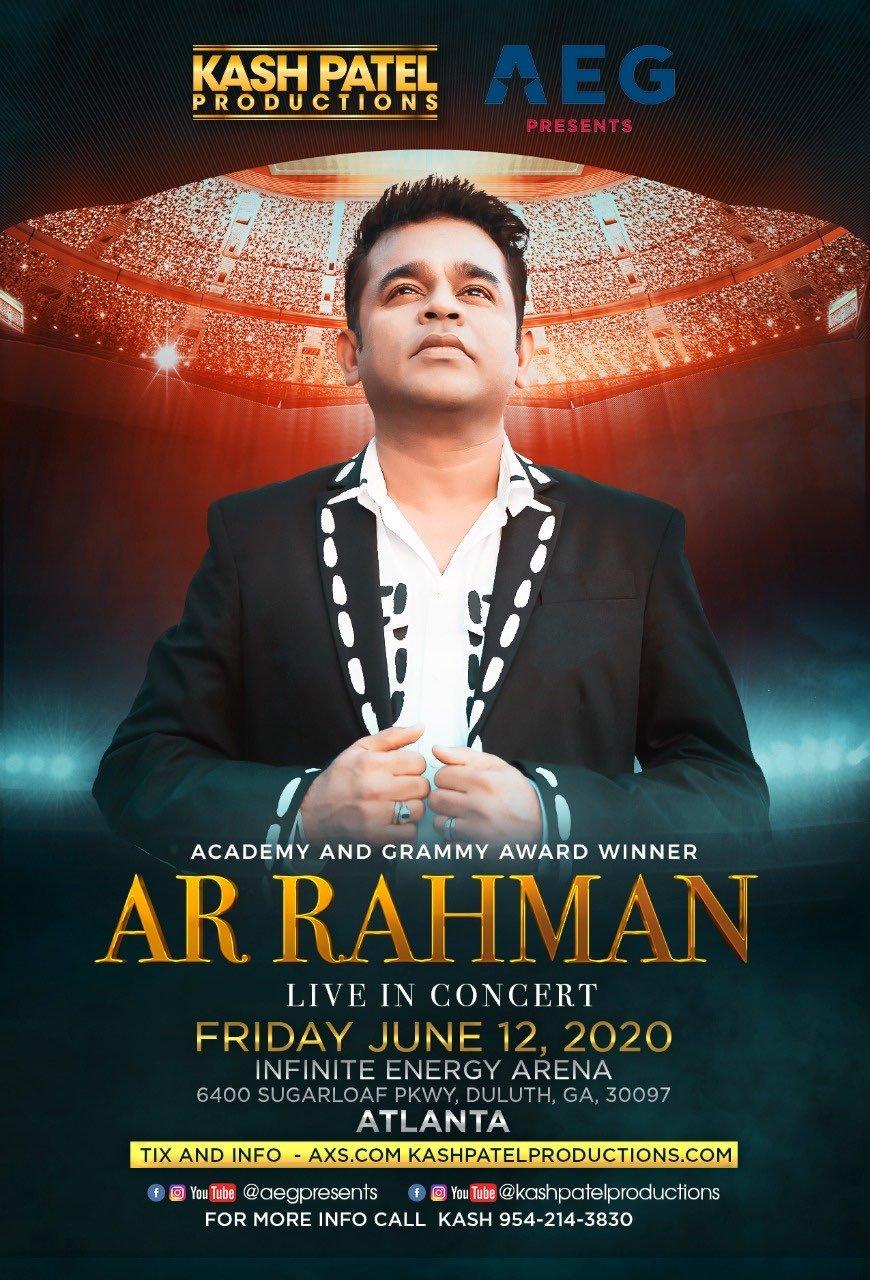 AR Rahman - Atlanta, HA
