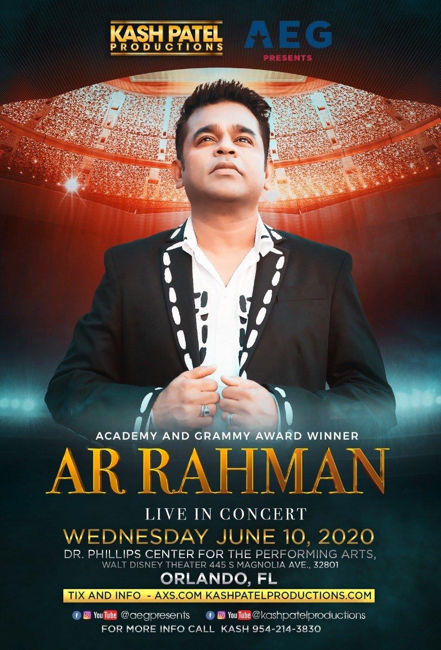 AR Rahman - Orlando, FL