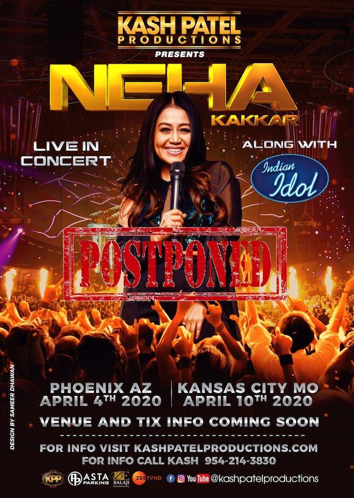 Neha Postponed